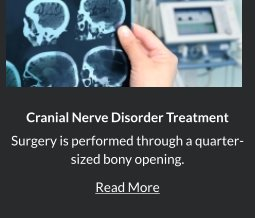 Cranial Nerve Disorders in Orange County