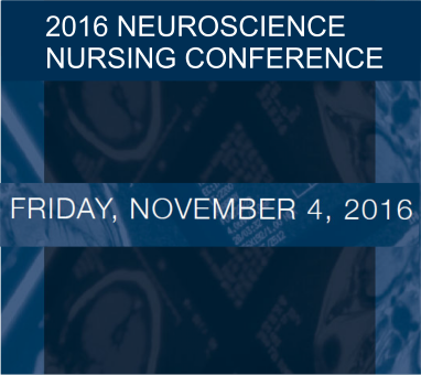 2016 Neurosciemce Nursing Conference