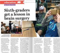 Dr. Louis At Costa Mesa School - The OC Register Report