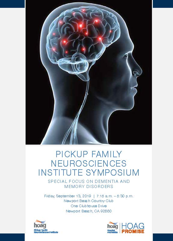 Pickup Family Neurosciences Institute Symposium
