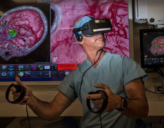 Robert Louis, MD using Virtual Reality
