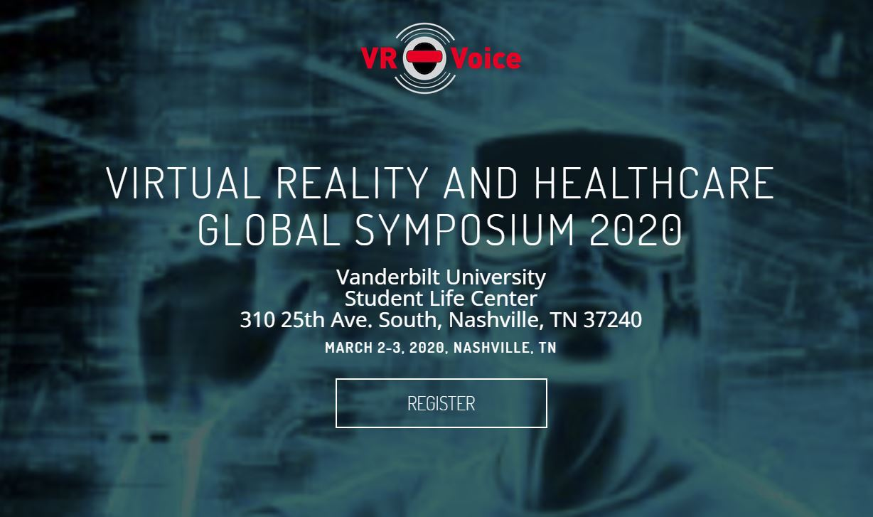 Virtual Reality and Healthcare Global Symposium 2020